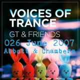 Abbott & Chambers - Voices Of Trance 026 (June 2007)