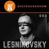 DEEP SOUND SHOW 003 - Lesnikovsky