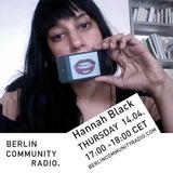 Hannah Black April 2016