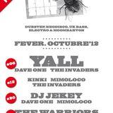 The Invaders Go Electronic! Live @ Bullshit Club Bilbao (06-10-2012)