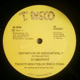 Definition of Groove vol.1