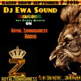 Dj Ewa  Royal Zionhighness Radio Show-september 7-2016