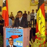 Camarada Prezidente Lu-Olo anunsia ninia kandidatura ba PR