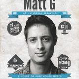 Matt G Guest Mix For Universally Speaking On Insomnia FM