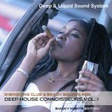 Deep House Connoisseurs Volume I - Energizing Club & Beach Sounds