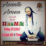 Asante Amen..Inner View..Liberated Radio.