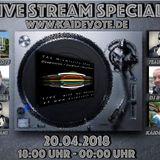 Zweites Streamspecial on www.kaidevote.de     Set by Kai DéVote - Techno Pool #073 20.04.2018