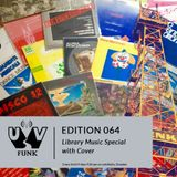 UV Funk 064: Library Music Special with Cover