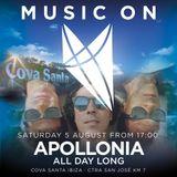 Apollonia - Live @ Music On (Amnesia, Ibiza) - 05-SEP-2017