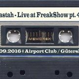 Clastah - Live at FreakShow pt. 46 (17.09.2016 @ Airport Club / Gütersloh)