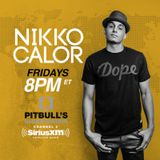 Nikko Calor on Pitbull's Globalization / SiriusXM (Extended Mix)