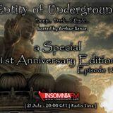 Arthur Sense - Entity of Underground #012: 1st Anniversary Edition [Jule 2012] on Insomniafm.com