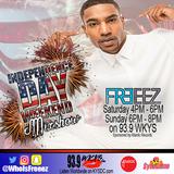 DJ Freeez - WKYS 4th of July Mixshow Weekend (Hype Rap Set)