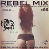 Rebel Mix #115 with host Esther Benoit [DROP edition] - Mar22.2014