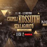 Aaron Sole - Csepeli Kossuth - Le Bistro 11.18.