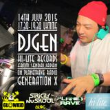 DJ GEN (JP) Guest Mix @ GL0WKiD Generation X [RadioShow] - Planet Rave Radio (14.07.2015)