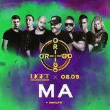 2019.08.09. - ORIGO - LIGET Club, Budapest - Friday