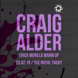 Craig Alder. Erick Morillo Warm Up Set. 23.0219