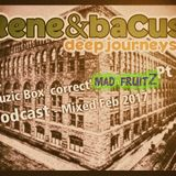 Rene & Bacus Volume 190 (Chicago Detroit NYC Berlin London Tropical Soulful Garage House) (FEB 2017)