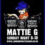 Mattie G's Sunday Night House Fix on London Pirate radio - www.londonpirateradio.co.uk - Enjoy