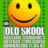 """Tyree Cooper at """"Back To The Oldskool CD Release Party"""" @ WMF (Berlin) - 11 April 2002"""