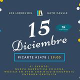 """Gato Caulle en Radio UACh: """"Sin Título"""" - 28 de Noviembre 2017"""