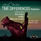 Ben Salem - Guest - Time Differences 165 [24-May-2015] On TM-Radio