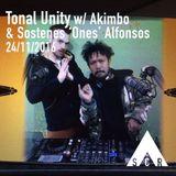 Tonal Unity w/ Akimbo & Sostenes 'Ones' Alfonsos - 24/11/2016