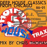 Warning!! Early House Music 86-91 (Chicago Special Vocals and Piano)