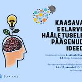 Kertu Vuks rääkis Elva valla kaasava eelarve ideedest ning Tartumaa koolinoorte äriidee konkursist