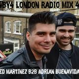 4by4 London Radio Mix 4: Ed Martinez(Groove Agents) b2b Adrian Buenavida (Whack on Beat)