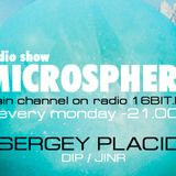 Microsphere podcast #186 by Sergey Placid for radio 16BIT.FM