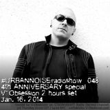 V-Obsession - URBANNOISE radio 4th Anniversary [Jan.16,2014] on STROM:KRAFT Radio