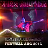 Chris Oblivion @FSI Dance Festival 2016