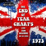 End of Year Chart - 1973 - Solid Gold Sixty - Tom Browne - 30-12-1973