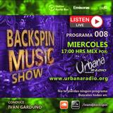 "2019.12.04 ""Backspin Music Show"" Programa 008 - Urbana Radio"