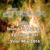 Sagua pres. Sound To My Ears: Episode #017 Year Mix 2014