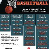 WERA High School Basketball Game of the Week: Wakefield vs. Edison Girls Basketball JAN 6th