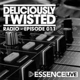 @DeliciouslyTwisted #BigRoom #HouseMusic #RadioShow #011on @EssenceFMLive