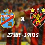 RELATO - Arsenal Sport Recife 27-7-17