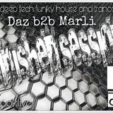 Minished Sessions present -DazCarter B2B Marli -oldskool hardhouse