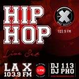 Live Set en La X Más Música (DJ 113 & Dj PHO) Junio 26