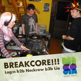 Vicodin radio show / Lia b2b Log:n b2b Neckrow / breakcore