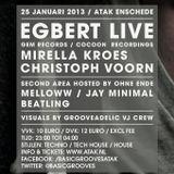 Jay Minimal @ Basic Grooves invites Egbert 25-01-2013