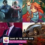 Game of the Year 2018: Day Five (Finale)