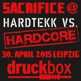 SACRIFICE @ DRUCKBOX LEIPZIG 30.04.2015
