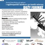 """Literacki wolny eter - Kalina I. Zioła i Beata P. Klary oraz konkurs na tomik """"duży format"""""""