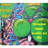 Club Chaos 222 Wynwood Miami Graffiti Art Mix