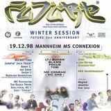 DJ Blame + MC Conrad @ FUTURE Winter Session, MS Connexion Mannheim (19.12.1998)