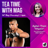 """Tea Time with MAG with Agilan """"Alligator"""" Thani"""